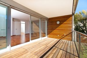 Balkon sichern