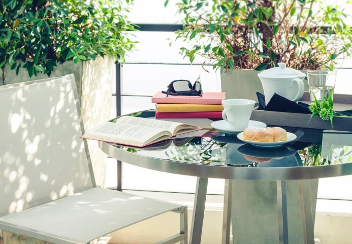 Mini Kühlschrank Für Balkon : Doppelzimmer mit balkon