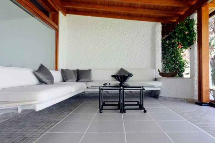 Balkonboden streichen