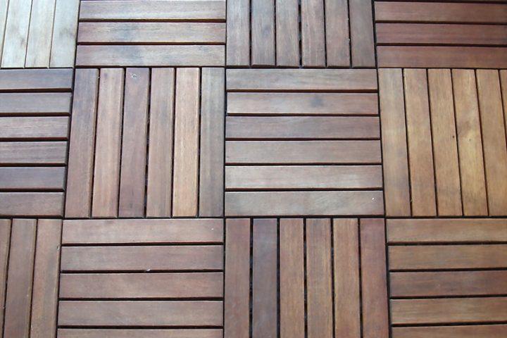 Balkonfliesen Holz