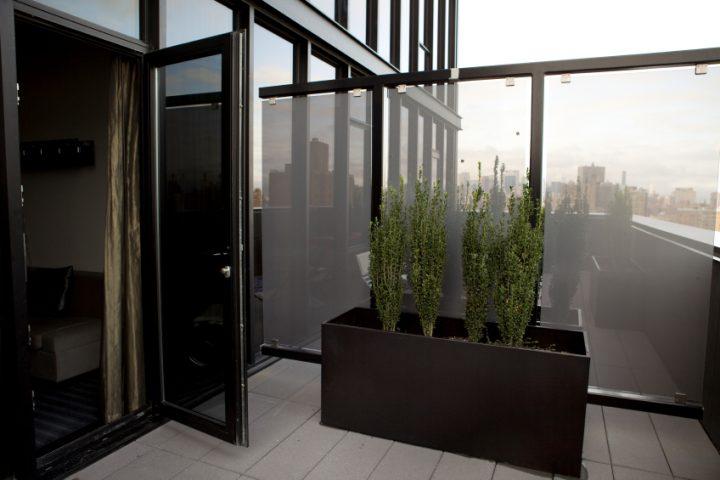 Balkongestaltung Sichtschutz