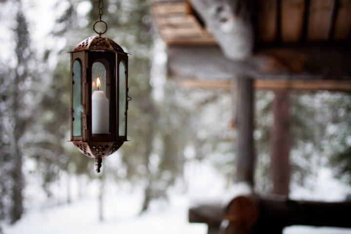Balkongestaltung im Winter