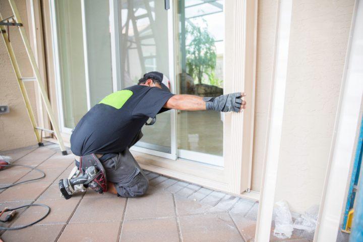 Balkontür einbauen