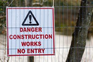 Baugrube sichern
