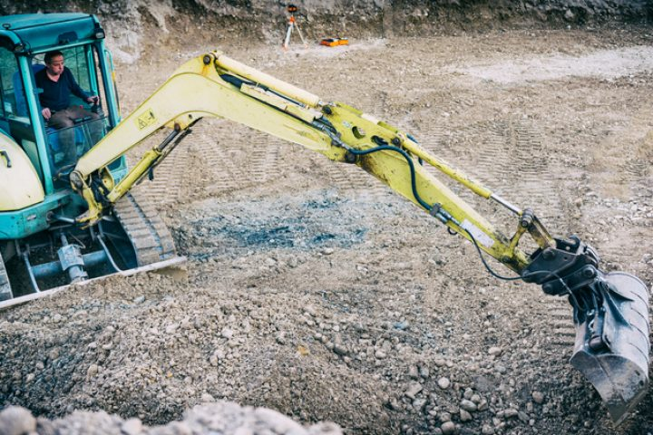 Baugrube ausheben wie lange