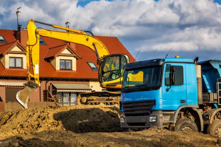 Baugrube Aushub ohne Genehmigung