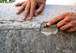Beton ausbessern