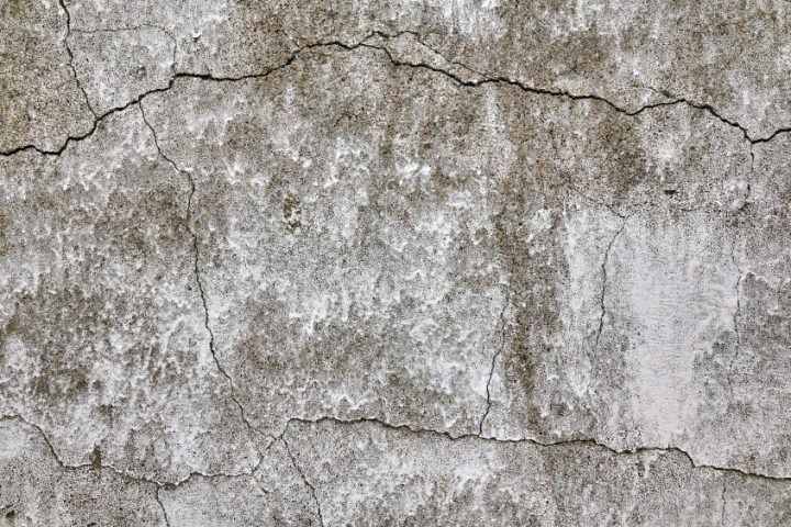 Beton ausblühen