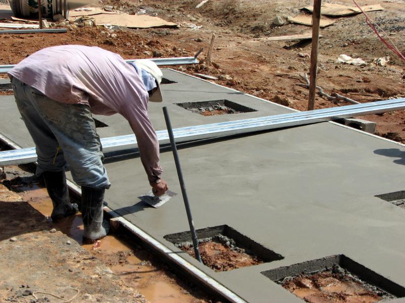 betonboden reinigen aufbau vom betonboden die 4 schichten. Black Bedroom Furniture Sets. Home Design Ideas