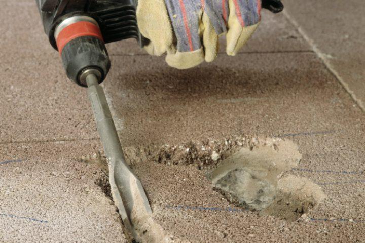Betonboden entfernen