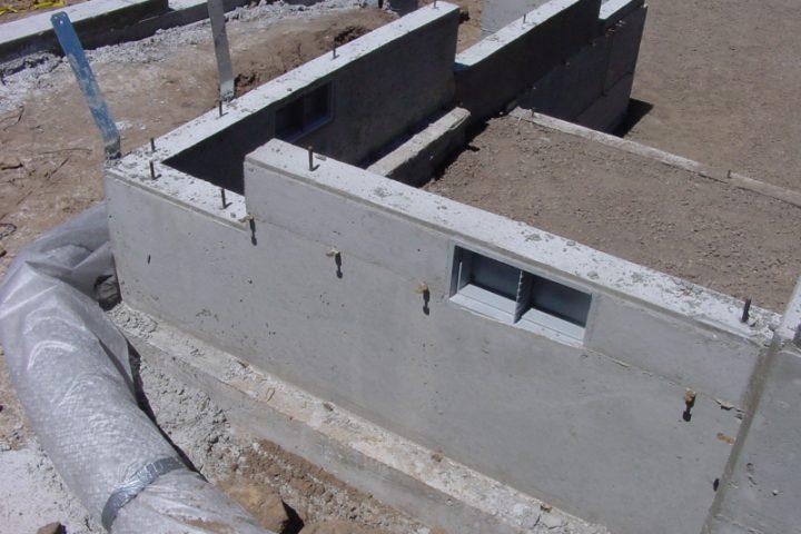 Betonfundament erstellen