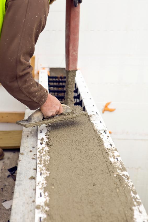 betonmauer giessen notwendiges werkzeug material
