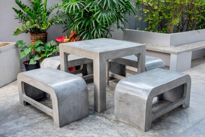 Betonmöbel selbst herstellen