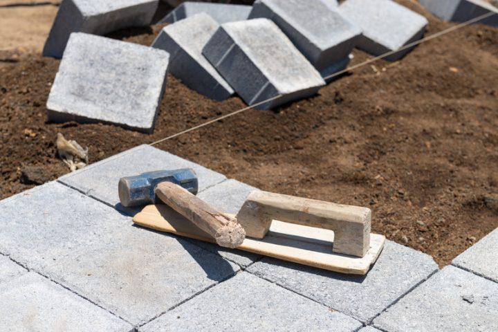 Betonplatten Großformat