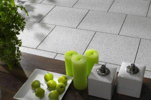 Betonplatten Terrasse