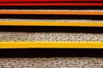 Betonplatten streichen