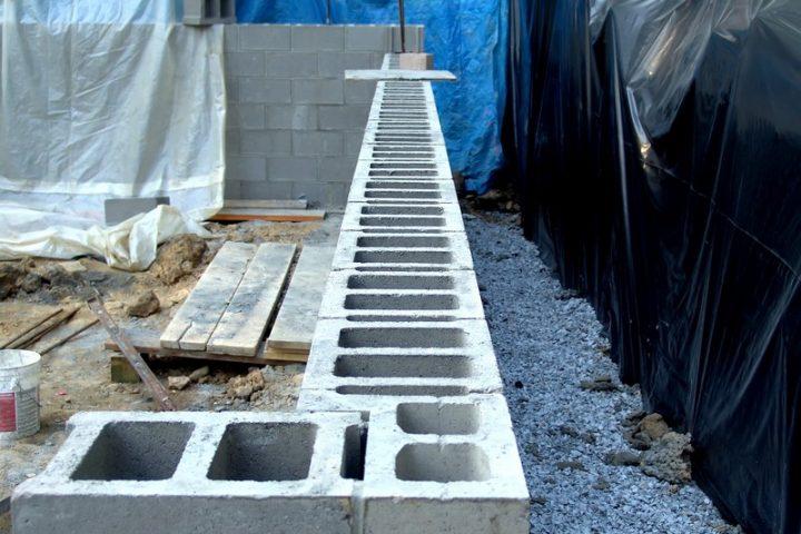 Mauern betonsteine