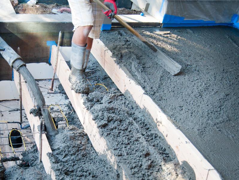 Bekannte Betontreppe bauen » Unterkonstruktion, Verschalung & Gießen QH18