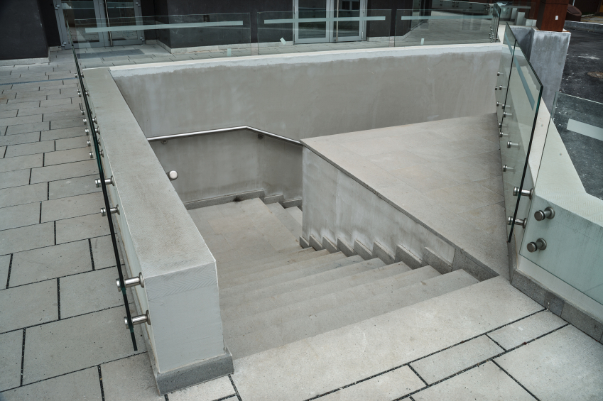 betontreppe pro contra. Black Bedroom Furniture Sets. Home Design Ideas