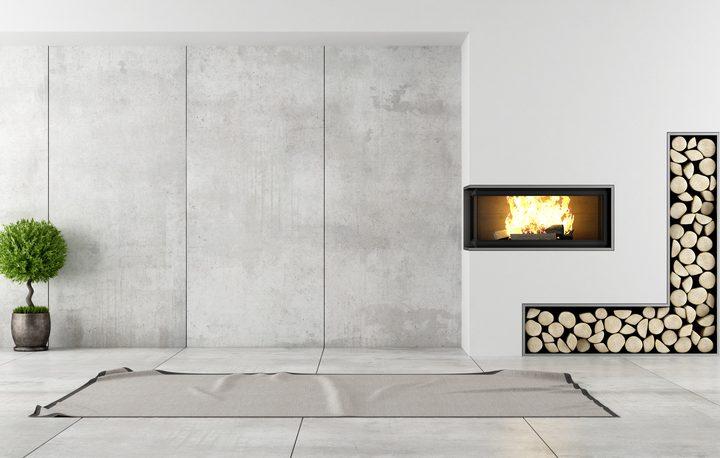 Betonwand Im Wohnzimmer So Schaffen Sie Ein Stilvolles Ambiente