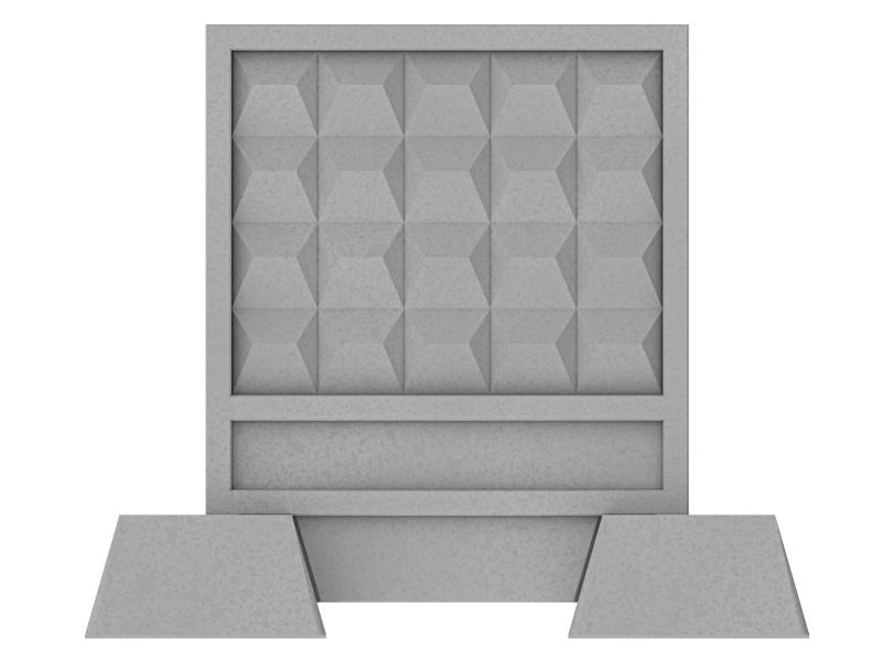 betonzaun faktoren f r preise kosten. Black Bedroom Furniture Sets. Home Design Ideas