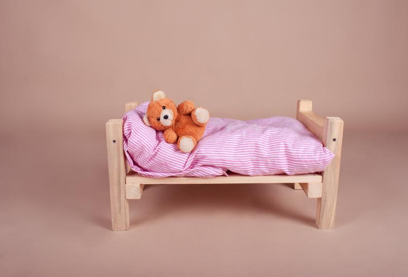 Bett Basteln Fur Eine Puppe Oder Fur Sie Selbst