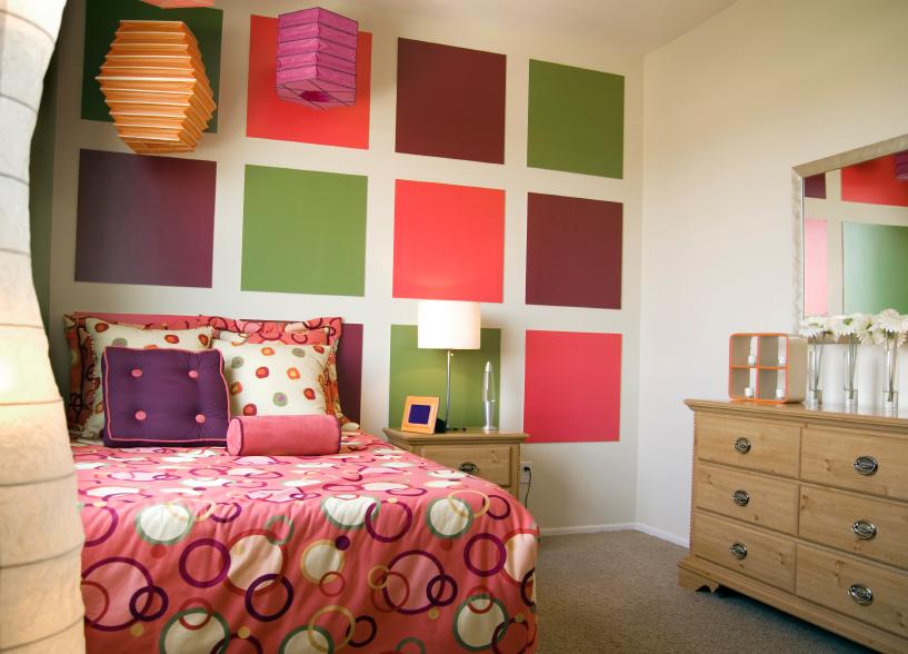 Dekorationsideen fürs Bett