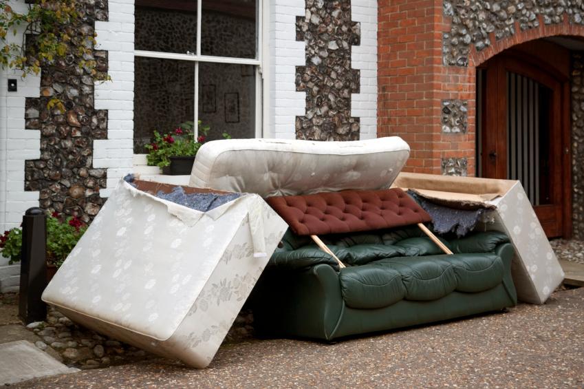 Wie können Sie Ihr altes Bett entsorgen?