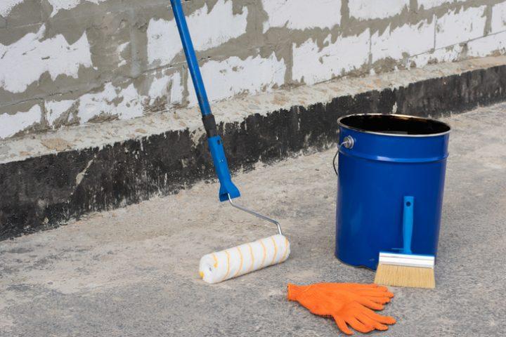 Bitumen Untergrund