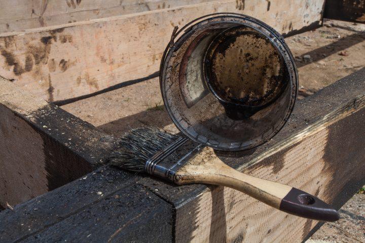 Bekannt Bitumen auf Holz aufbringen » (K)Eine gute Idee? MP83