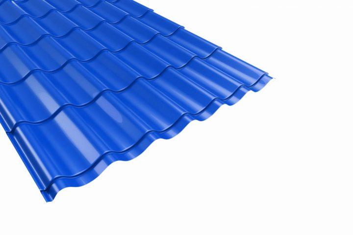 Bleche fürs Dach