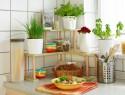 Blumentreppe Holz selber bauen
