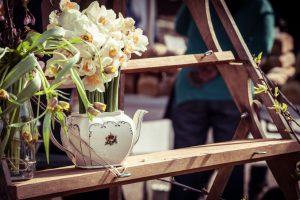 Blumentreppe selber bauen