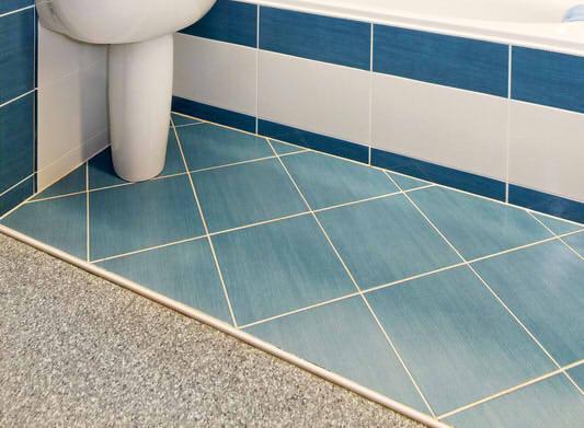 Bodenfliesen in blau farbt ne anbieter preise for Blaue bodenfliesen bad
