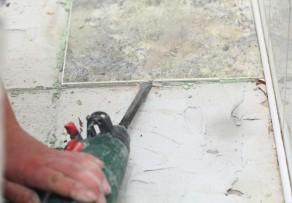 Bodenfliesen entfernen