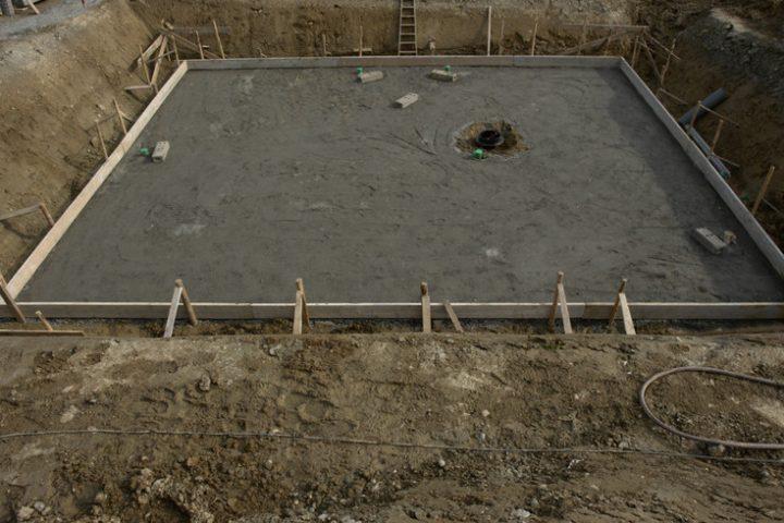 Bodenplattenschalung