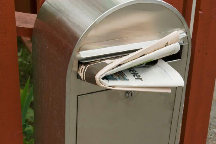 Briefkasten Maße