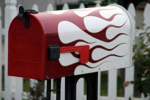 Briefkasten bemalen