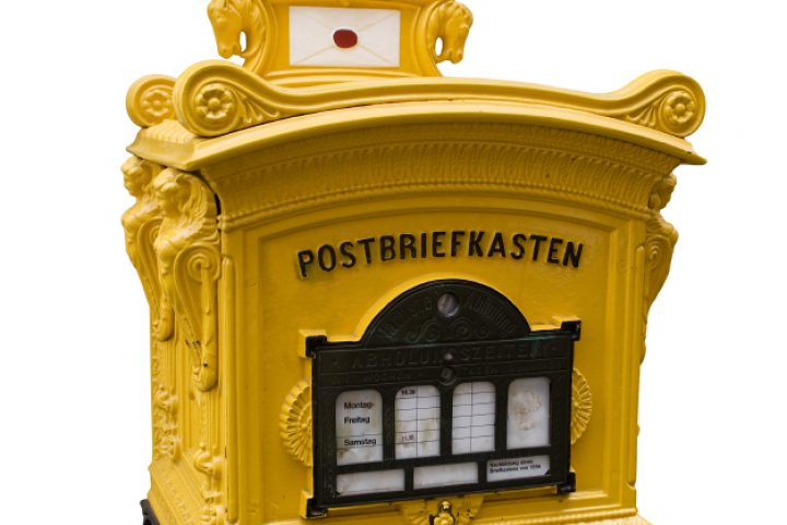 Briefkastenentleerung