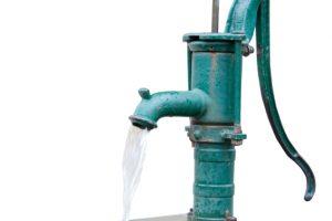 Brunnen Wasserförderung