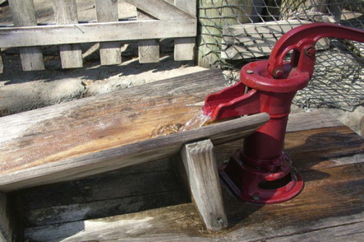 Brunnen reaktivieren