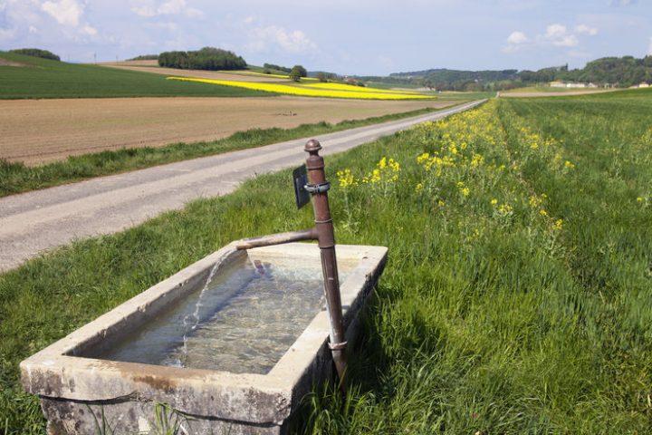 Brunnen schlämmen