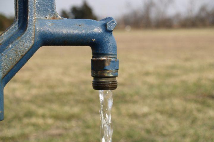 Brunnen spülen