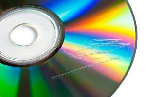 Zerkratzte CD reparieren