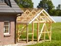 Carport aus Holz selber bauen in 5 Schritten