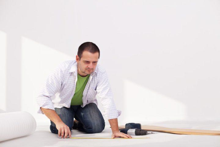 Dämmung unter Fußbodenheizung
