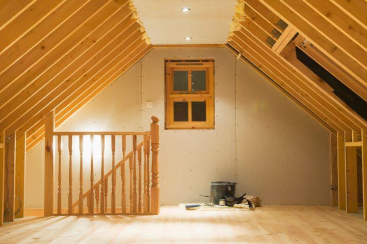 Dachbodentreppe abdichten