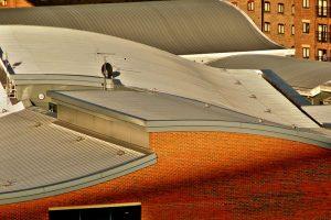 Dacheinlauf Flachdach