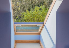 Dachfenster laibung