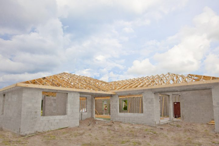 Dachkonstruktion Walmdach